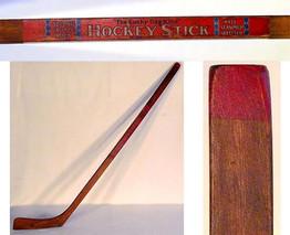 1910-20's D&M Hockey Stick