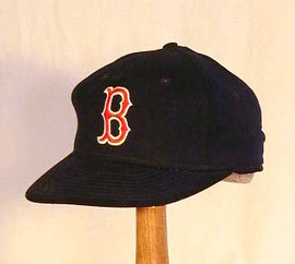 1970-1985 Boston Red Sox Game Used Baseball Cap