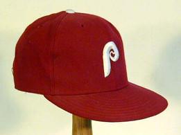 1988 Philadelphia Phillies Game Worn Cap