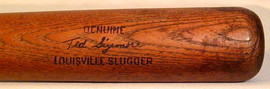 1969-72 Ted Sizemore Game Used Louisville Slugger Bat-K55
