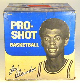 Lew Alcindor Basketball Box
