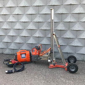 DM650 HF200-500V 1 PH-3PH Core Drill Motor & Stand