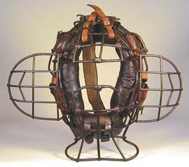 Vintage Catcher's Mask - 1910 - Unique