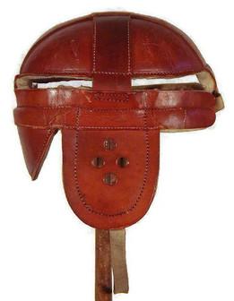 1904 Antique Football Helmet - Head Harness