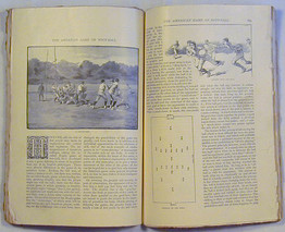 """1887 """"The Century…Magazine"""" with Important Football Content"""