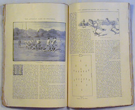 "1887 ""The Century…Magazine"" with Important Football Content"