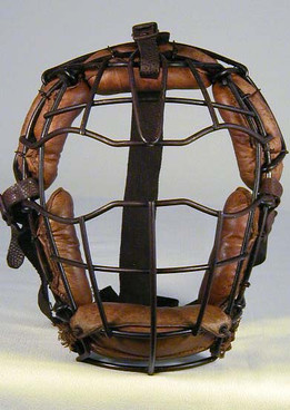 Early 1900's Birdcage Catcher's Mask