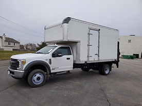 2019 F550 XL w 14' Box, TVLR 30AL Power Lift Gate and RealPower™ 480 PHIII 60 AMP PTO Generator