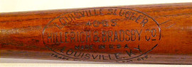 1920's George Sisler Louisville Slugger Baseball Bat