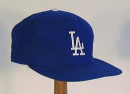 1970's Los Angeles Dodgers Game Worn Cap