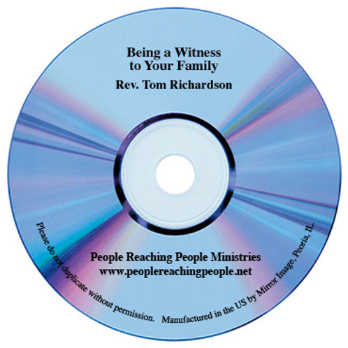 Being a Witness to Your Family Audio CD