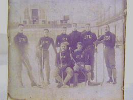 Turn of the Century Hockey Team Photo