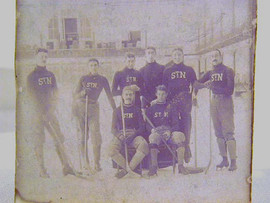 Turn of the Century Hockey Team Photo