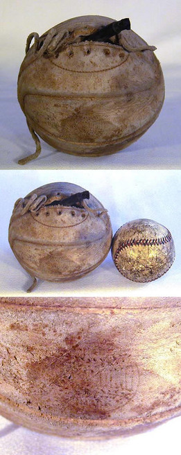 1910's Spalding Salesman's Sample Laced Basketball