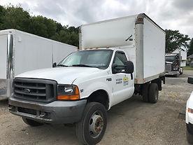 1999 Ford F550 Box Truck