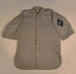 1910's Baseball Jersey with Sun Collar
