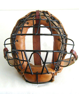 1930's Spalding Professional Quality Catcher's Mask