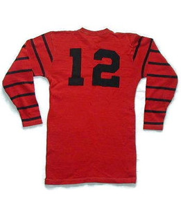 1910s Horace & Partridge Wool Football Jersey
