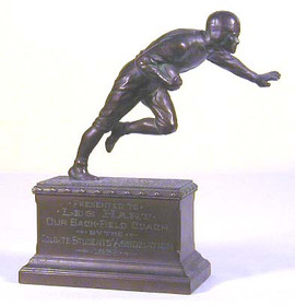 Antique Football Trophy Dated 1932
