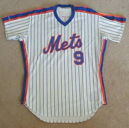 1990 New York Mets Game Used Jersey of Gregg Jefferies