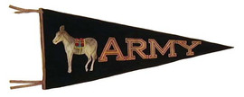 Antique Football Pennant - Army 1900-1910