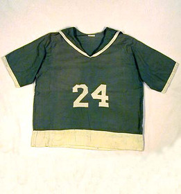 1924 Lady's Basketball Jersey - extremely rare sailor back style