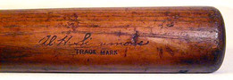 1931-34 Babe Ruth H&B Louisville Slugger Bat