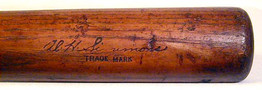 1932 Al Simmons, Louisville Slugger Baseball Bat