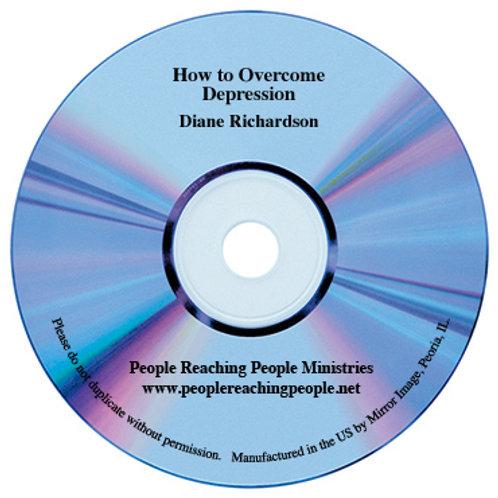 How to Overcome Depression Audio CD