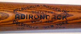 1930's Ty Cobb Baseball Bat - Adirondack