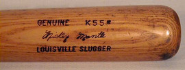 Antique Baseball Bat - 1960's Mickey Mantle Louisville Slugger 125