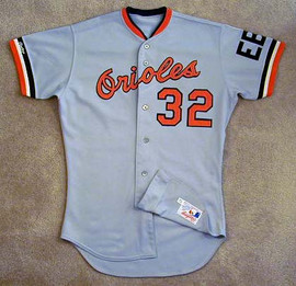 1988 Baltimore Orioles Game Used Jersey