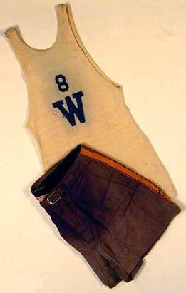 1910's Basketball Uniform with Quilted Shorts