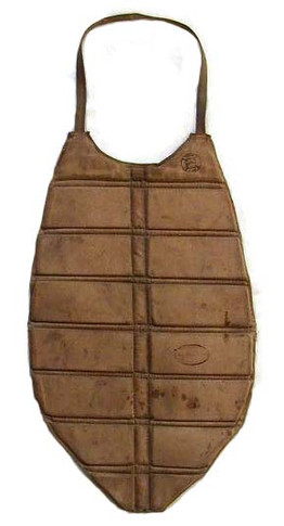 1890's Baseball Chest Protector made by Reach