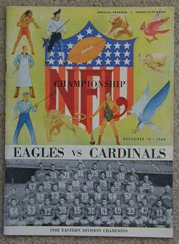 1948 NFL Championship Game Program