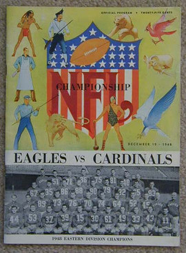 1948 NFL Championship Game Program