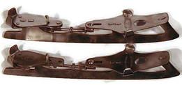 "1890's Peck & Snyder ""American Club"" Model Hockey Skates"