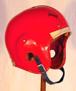 "1950's Babe Parilli ""Decal"" Helmet made by Hutch"