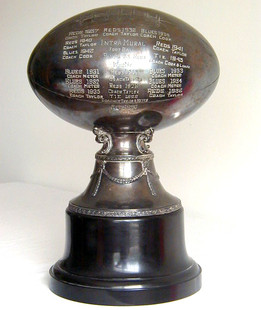"1920's HUGE 16"" Football Trophy"