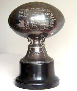 "1920's HUGE 16"" Football Trophy"