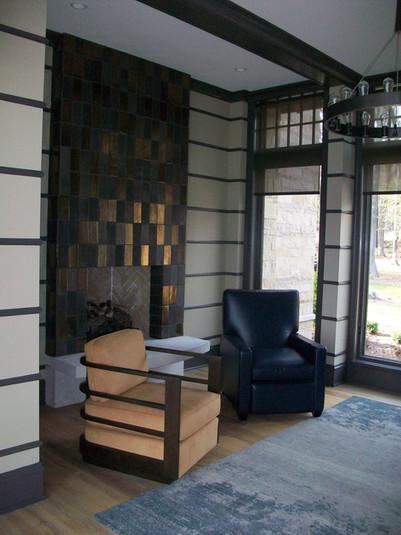 4x8 Pewter & Bronze Handmade Tile