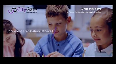 CityGate Language Service