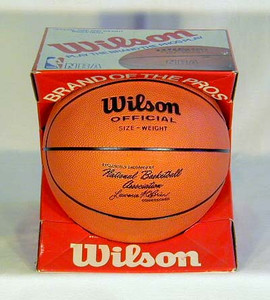 1970's Official Lawrence O'Brien NBA Basketball in the Original Box
