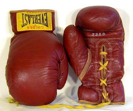 1940-50's Boxing Gloves made by the Everlast Sporting Goods Company