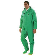 Onguard Industries 3X Green Chemtex 3.5 mil PVC on Nylon Polyester Chemical Protection Bib Overalls