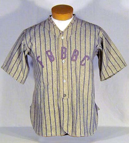 1920's Fort Brag Base Ball Club Baseball Jersey