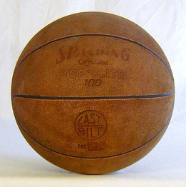 Patented 1941 Spalding Leather Basketball