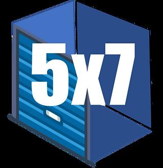 5x7 Mini Storage Unit
