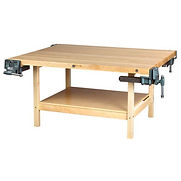 Diversified Woodcrafts 48″W x 24″D Woodworking Bench, Maple