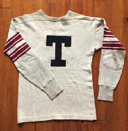 Antique Football Jersey made by Spalding